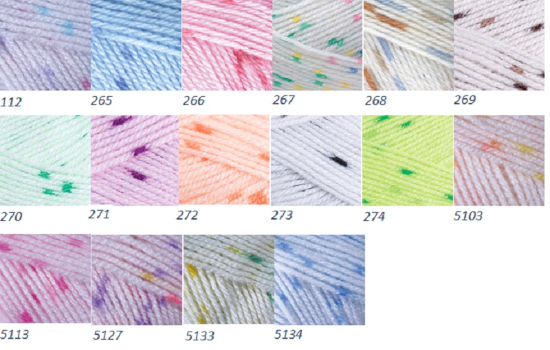 YarnArt - Baby Color 50g